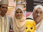 potret-mellya-juniarti-kanan-dan-pernikahan-ustadz-abdul-somad-beserta-sang-istri-kiri.jpg