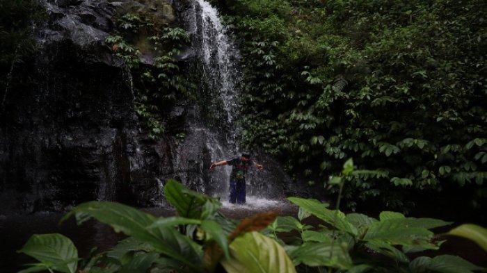 Air Terjun Coban Singo yang terletak di Desa Ngadirejo, Kecamatan Jabung