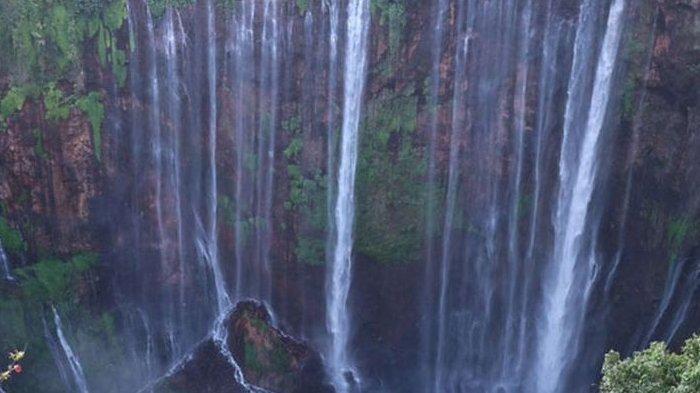 Sempat Diterjang Lahar Dingin Gunung Semeru, Air Terjun Tumpak Sewu Masih Dikunjungi Wisatawan