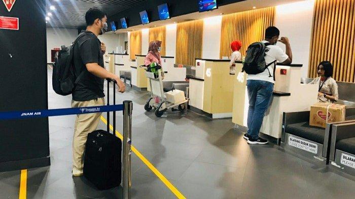 Bandara International Juanda Surabaya Terapkan Social Distancing di Semua Area Layanan
