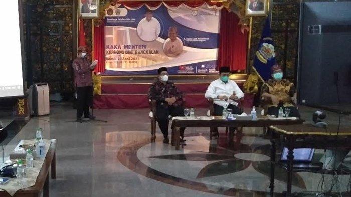 Menteri Sandiaga Uno Pastikan Bangkalan Masuk pada Deliniasi Kawasan Pengembangan Pariwisata