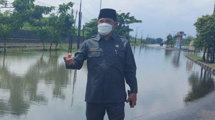 Jalan Raya Porong-Sidoarjo Kembali Terendam Banjir