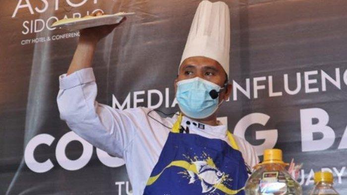 Rayakan HUT Pertama, Aston Sidoarjo Ajak Media dan Influencer Tanding Masak Kuliner Khas Sidoarjo