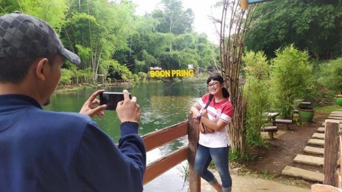 desa wisata boo pring di Malang terus berbenah dengan menambah varietas bambu