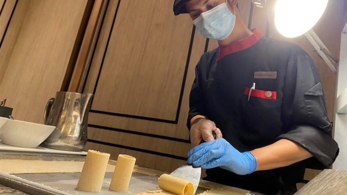 Uniknya Rasa Es Krim Pecel Sheraton Surabaya