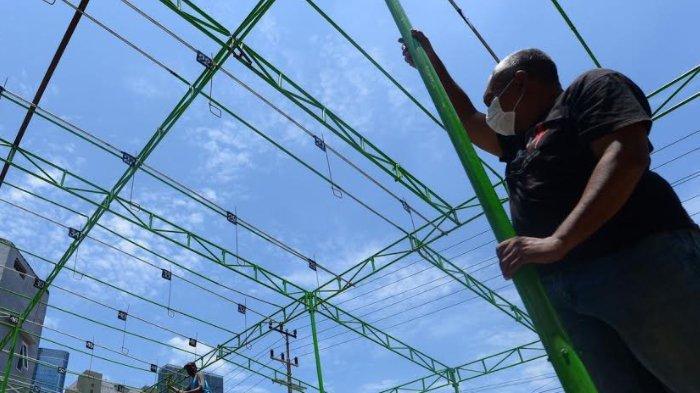 Warga Kampung Kaliasin Surabaya Manfaatkan Lahan Kampung untuk Gentangan Bagi Pehobi Burung