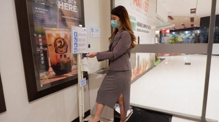 Minimalisir Sentuhan Grand City Mal Gunakan Touchless dan Sensor Pada Lift Pengunjung