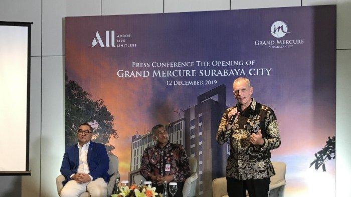 Resmi Dibuka, Grand Mercure Surabaya City Hadir dengan Kearifan Lokal Standart Internasional