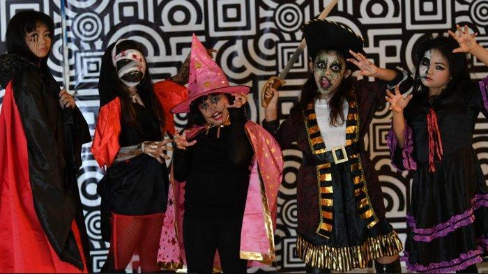 Ajak Anak Ekspresikan Diri Lewat Ajang Halloween Makeup and Fashion Parade Lenmarc Mall Surabaya,