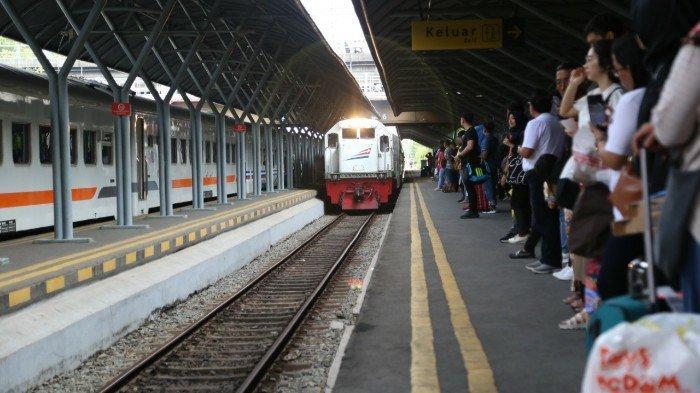 Tiket KA Lebaran Ka Brantas dan Kahuripan Di Stasiun Nganjuk Ludes, Tiket KA Reguler Masih Banyak