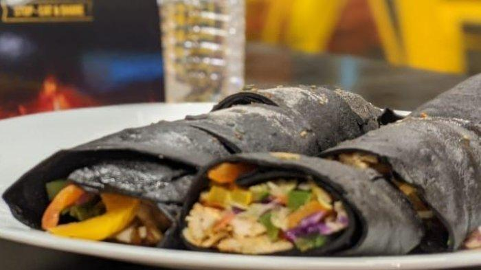 Kebab Tortilla Hitam Baba Rafi Tembus Hingga India