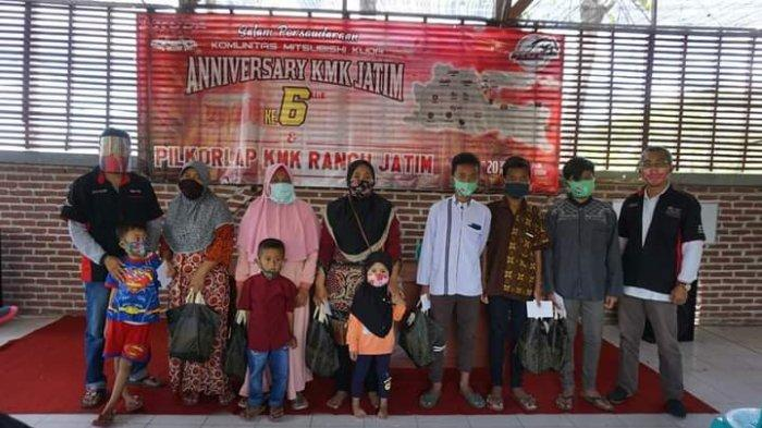 Acara wajib KMK Jatim santunan kepada anak yatim