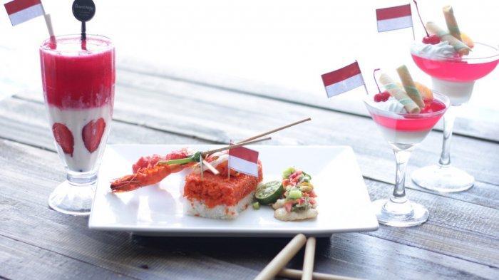 Kuliner Serba Merah Putih ada Nasi Goreng, Puding Hingga Minuman