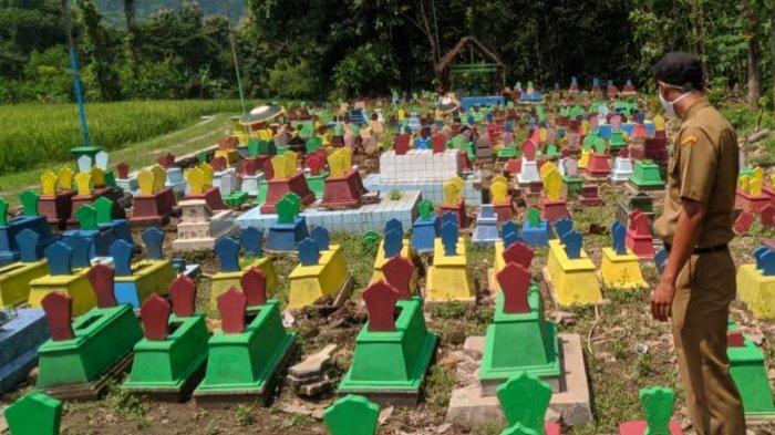 Setelah Dicat Warna-warni, Pemakaman di Ponorogo Kini Jadi Obyek Foto Selfie