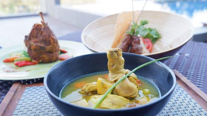 Ada Sup Ayam Temulawak Kaya Rempah Lezat dan Menyehatkan Menu Baru di Aston Hotel Sidoarjo