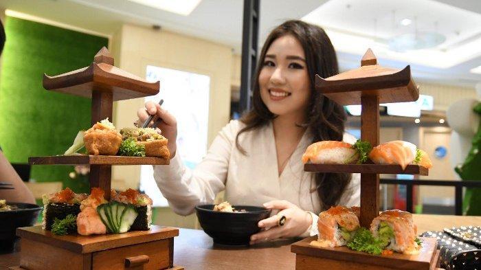 Cara Lain Menikmati Kuliner Jepang, Sushi Pagoda ala Negiya Dining Kekinian Tapi Tetap Khas Rasanya