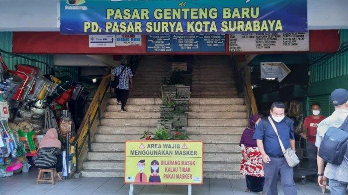 Pasar Genteng Baru Dan Tambahrejo Disiapkan Sebagai Pilot Project Pasar Tangguh Lawan Covid-19