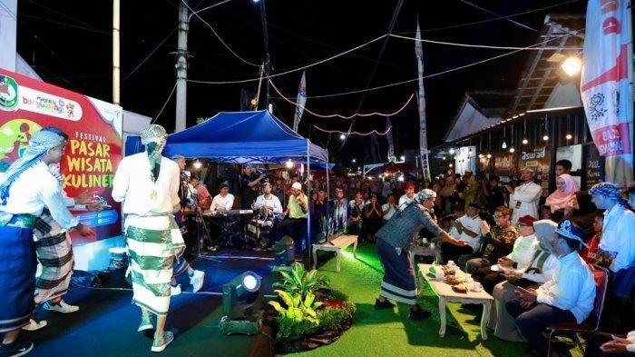 Wisata Kuliner Banyuwangi Makin Bergeliat Dengan Pasar Wisata Kuliner Sajikan Kekhasan Daerah