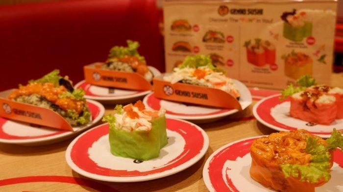 Manjakan Penggemar, Genki Sushi Keluarkan Menu Baru