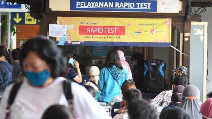 Simak, Berikut Tata Cara Rapid Test di Stasiun