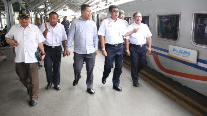 Toilet dan Fasum di Stasiun Gubeng Jadi Pantauan DPRD Jatim. Hari Ini Angkut 272.396 orang