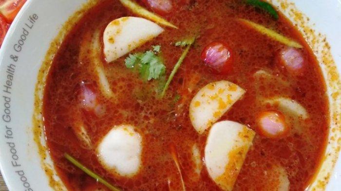 Seafood Tom Yam Kudapan Hangat Penuh Rempah Penjaga Imun Tubuh