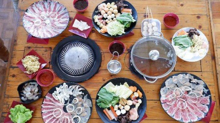 Sajian Sukiyaki dan Yakiniku Bisa Dipesan dan Masak Di Rumah Sendiri
