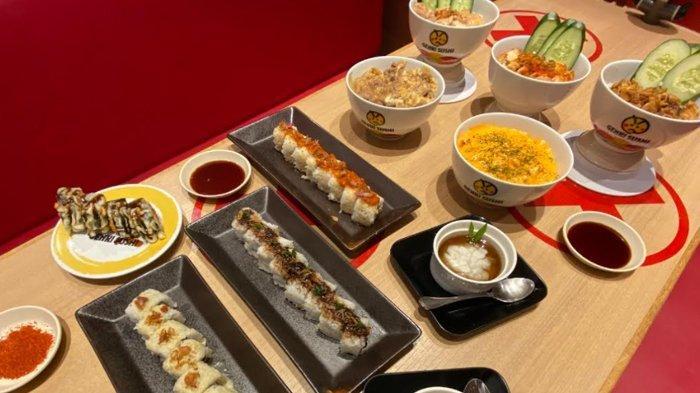 Fusion Rasa Jepang dan Indonesia Dalam Sajian Sushi Supreme