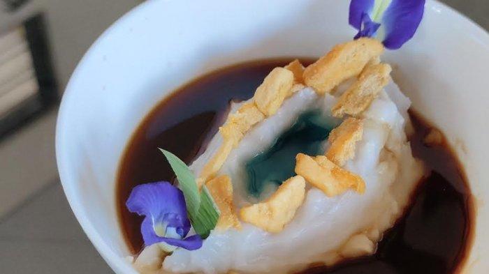 Replika Gunung Ijen Dalam Mangkuk Tajin Megasari Buatan Chef Michael