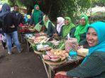 Pasar Papringan Jadi Andalan Desa Wisata Jambu, Ala Pasar Jadul Era Tahun 1960 an Di Kediri