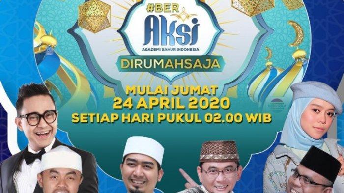 Akademi Sahur Indonesia Indosiar Gelar Kompetisi Pemilihan Ustaz dan Ustazah Secara Virtual