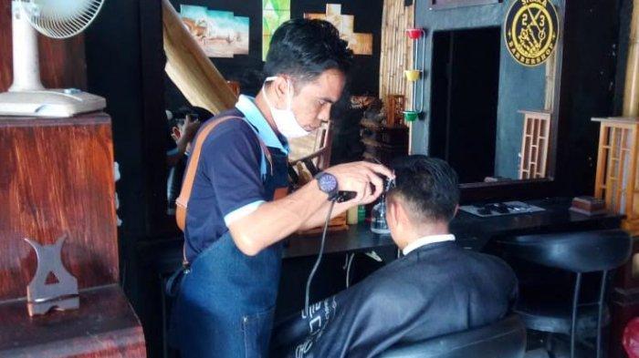 Barbershop Galeri Bang Napi Tawarkan Sensasi Dicukur Narapidana, Bisa Pilih Model Rambut Kekinian