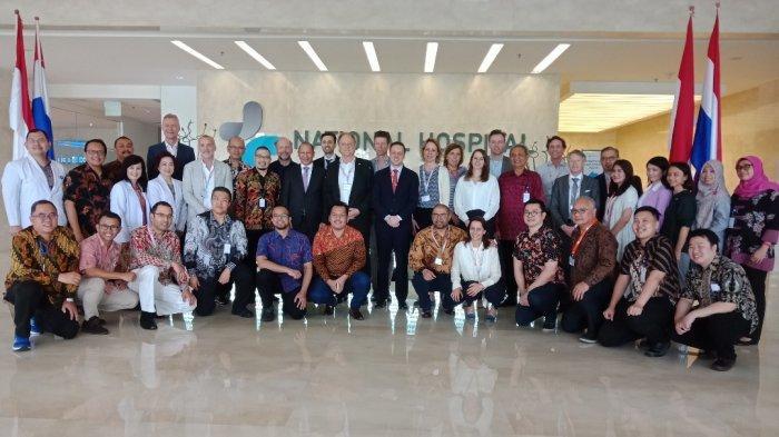 Terima Delegasi Life Science and Health, National Hospital Pelajari Sistem Kesehatan Belanda