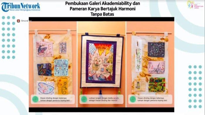 Yayasan Peduli Kasih ABK Buka Galeri Untuk Pamerkan Hasil Karya Anak Berkebutuhan Khusus