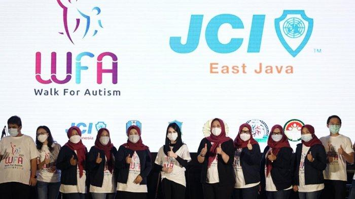 JCI East Java Gelar Walk For Autism untuk Peringati Autism Awareness Day Sedunia