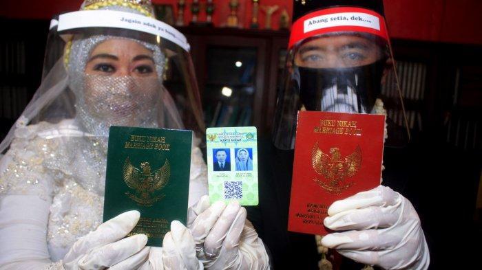 Menikah di Tengah Pandemi, Ika Wahyuning Sempat Panik dan Takut Digrebek