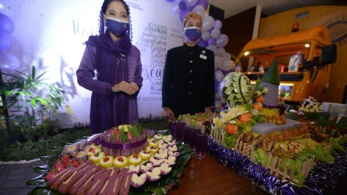 Rayakan Ultah ke-14, Mercure Grand Mirama Surabaya Sajikan Ragam Kuliner Serba Ungu