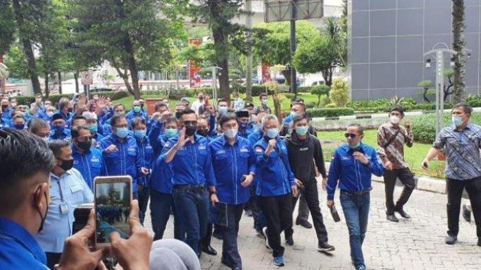 AHY Sambangi Kemenkumham Bersama 34 Ketua DPD, Lapor Penyelenggaraan KLB Ilegal