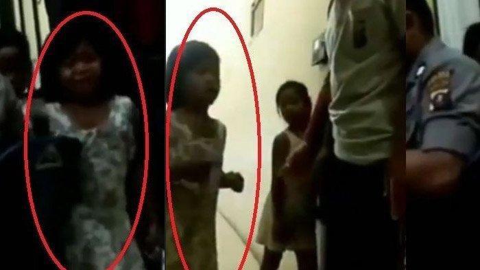 Rindu Sang Ayah, Video Gadis Cilik Nyelonong Masuk Kantor Polisi & Menangis di Ruang Tahanan Viral