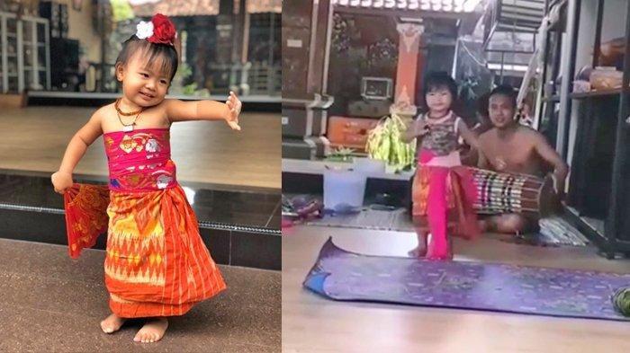 Viral Video Menggemaskan Bocah Menari, Sang Ibu Sebut Anaknya Tertarik Dunia Seni Sejak Umur 1 Tahun
