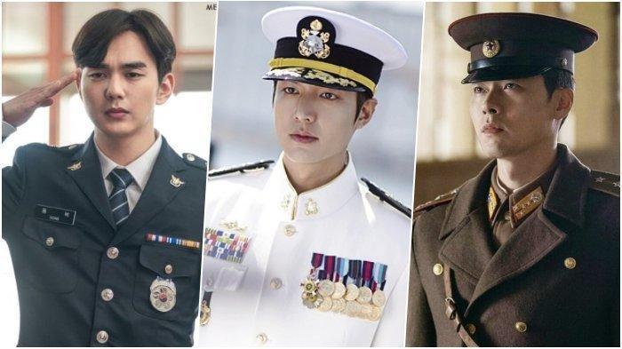 Bikin Hati Kaum Hawa Meleleh, Ini 7 Aktor Drama Korea Terkece saat Pakai Seragam Polisi dan Militer