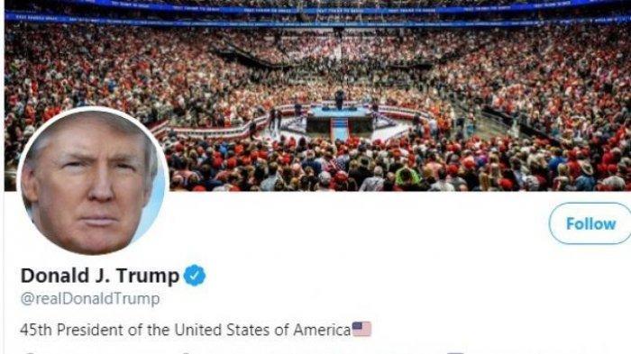 Akun Twitter Donald Trump Resmi Ditutup secara Permanen, Ini Alasannya