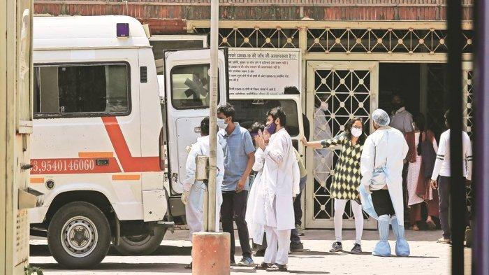 Ambulans Covid-19 India.