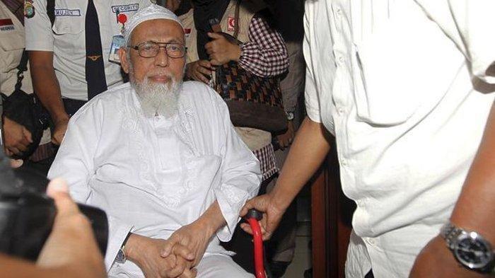 Abu Bakar Ba'asyir Bebas pada Jumat Besok setelah Belasan Tahun Dipenjara, Pembebasan Dikawal Densus