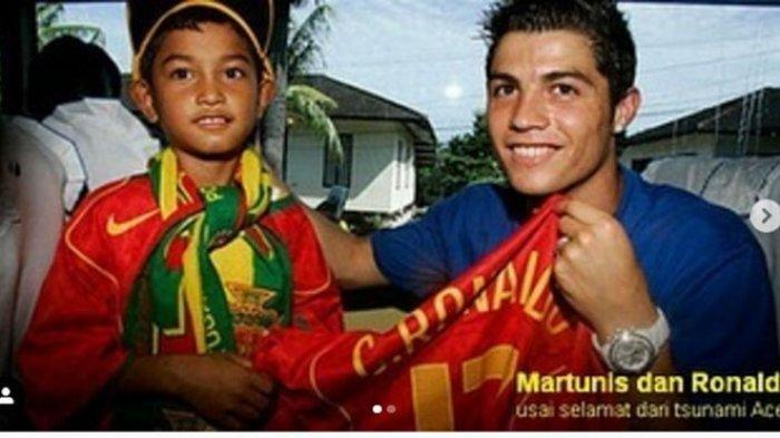 Viral, Cristiano Ronaldo Bakal Punya Mantu Gadis Cantik Asal Aceh dari Anak Angkatnya Martunis