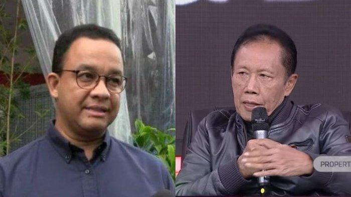 'Sentil' Anies Baswedan soal Banjir Jakarta, Sutiyoso: Kadung Kampanyenya Tidak akan Gusur