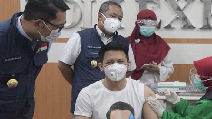 Kepada Ridwan Kamil, Ariel NOAH Ungkap Alasan Dirinya Yakin Disuntik Vaksin Covid-19