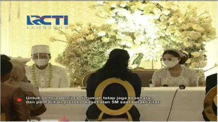Pasangan Aurel Hermansyah dan Atta Halilintar resmi menikah, Sabtu (3/4/2021).