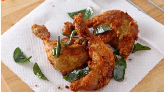 Ayam Goreng Kuning Aroma Daun Jeruk