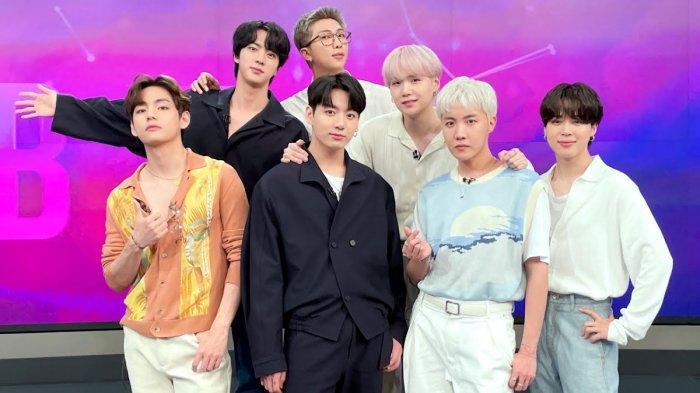 Boy grup Korea Selatan, BTS.